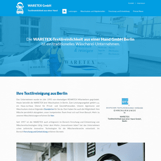 WARETEX GmbH - Textilreinlichkeit aus einer Hand