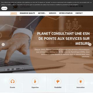 Services informatiques - Carry le Rouet - Planet Consultant