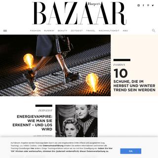 ArchiveBay.com - harpersbazaar.de - Home - Harper's BAZAAR