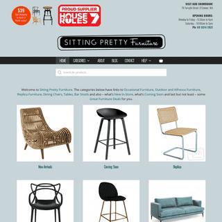 ArchiveBay.com - sittingprettyfurniture.com.au - Products - Designer Furniture Perth - Sitting Pretty Furniture -- Perth's online bar stool and replica furniture specialist --