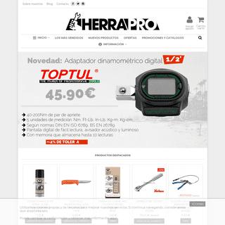 Herrapro.com, tu tienda online de herramientas. - CRADIM, S.L