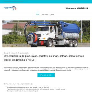 ArchiveBay.com - desentupirja.com.br - → Desentupidora e Desentupimento em Brasília - DF - 4042-5192