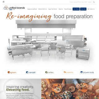 Unified Brands » Re-imagining Food Preparation