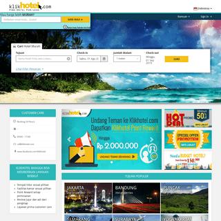 ArchiveBay.com - klikhotel.com - Booking Hotel Online Harga Diskon Pertama di Indonesia