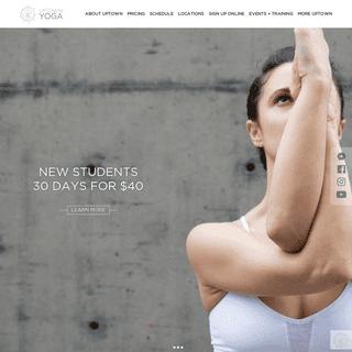 Yoga Retreats and Teacher Training in Dallas - Uptown Yoga