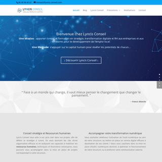 ArchiveBay.com - lyncis-conseil.com - Lyncis Conseil, conseil management, stratégie, e-tourisme