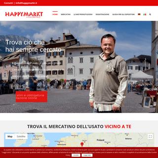 Mercatino dell'usato Happymarkt Bolzano Bressanone Merano Alto Adige