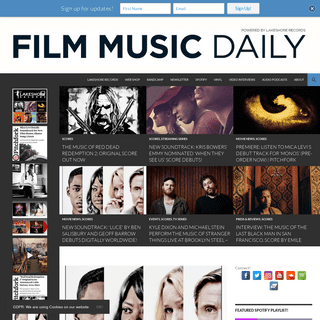 Film Music Daily - The Best In Film Music, Daily.