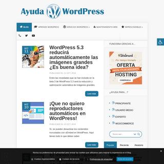 Ayuda WordPress • Recursos, themes, plugins y tutoriales en español