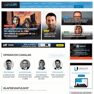 CanalAR - Homepage