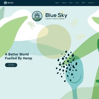 Blue Sky Hemp Ventures
