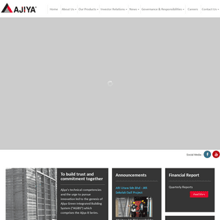 AJIYA Group Of Companies --To Build Trust And Commitment Together-