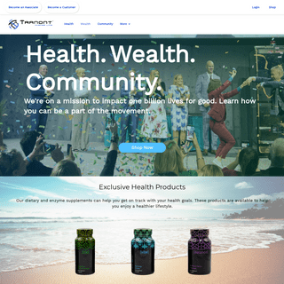 Tranont - Better Health, Greater Wealth, Serving Our Communities