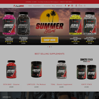 Muscle Rage - The UK's #1 Supplement Store.