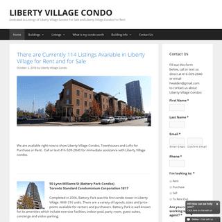 ArchiveBay.com - libertyvillagecondo.com - Liberty Village Condo - Newest Condo Listings Updated Daily
