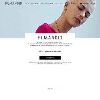 ArchiveBay.com - shophumanoid.com - Humanoid World