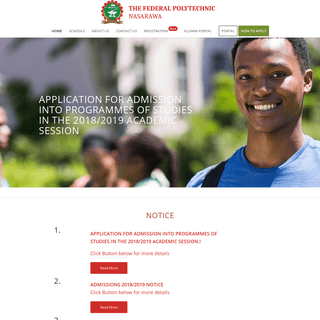 ArchiveBay.com - fedpolynasarawa.edu.ng - Federal Polytechnic Nasarawa -