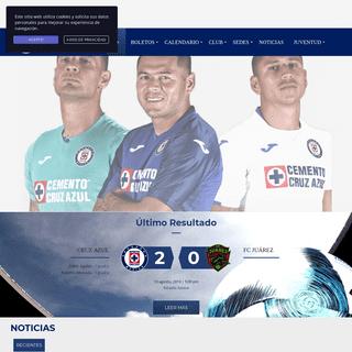 Página Oficial de Cruz Azul Fútbol Club México - La Máquina Celeste