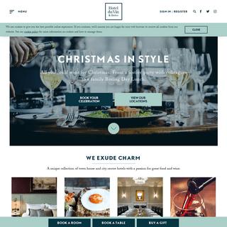 ArchiveBay.com - hotelduvin.com - Luxury Boutique Hotels UK - Hotel du Vin & Bistro
