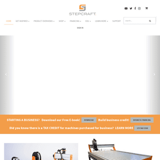 STEPCRAFT CNC SYSTEMS - A World Leader In Affordable, High-Performance, Multi-Function CNC Systems - Stepcraft, Inc.