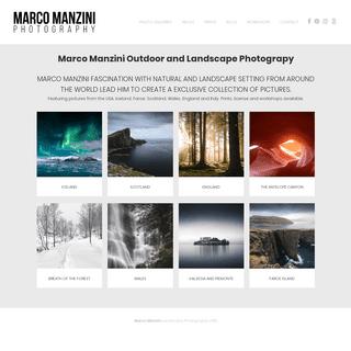 Marco Manzini - Landscape Photography - Prints and Workshops