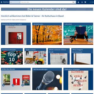 Bider & Tanner - Ihr Kulturhaus in Basel - Bider & Tanner