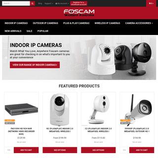 ArchiveBay.com - foscamwa.com.au - Foscam Western Australia, Official Distributor of IP Cameras - Home Page
