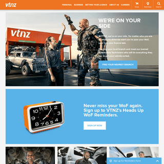 VTNZ - Your Vehicle Safety Experts