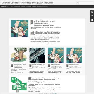 ArchiveBay.com - udbytteinvestoren.blogspot.com - Udbytteinvestoren - Frihed gennem passiv indkomst