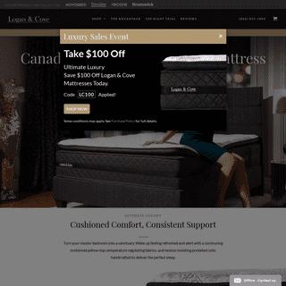 Logan & Cove - Canada's Best Priced Luxury Mattress