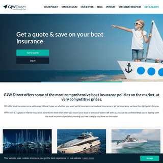 Online Boat Insurance Quotes - GJW Direct - GJW Direct