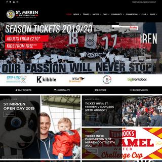 ArchiveBay.com - stmirren.com - The Official Website of St.Mirren Football Club