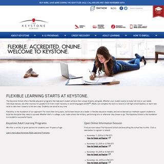 Online Homeschool Programs & Classes - The Keystone School