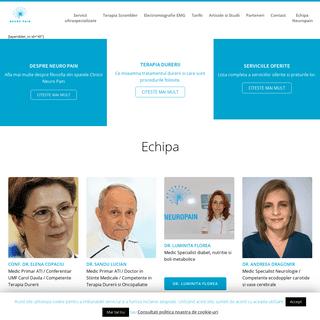 Clinica Neuropain din Bucuresti - Amelioram calitatea vietii -