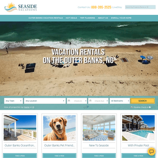 Seaside Vacations - Outer Banks Vacation Rentals