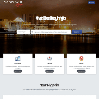 ArchiveBay.com - manpower.com.ng - Nigeria Business Directory - Find Companies, People & Places in Nigeria
