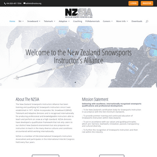 NZSIA - New Zealand Snowsports Instructors Alliance - Ski and Snowboard Instructor Certifications