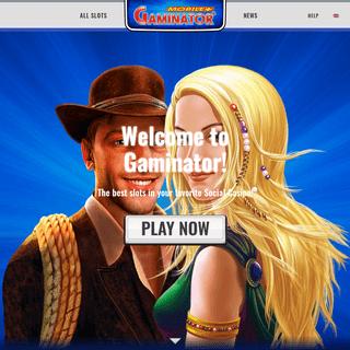 Online Casino & Slots for FREE - GAMINATOR Casino
