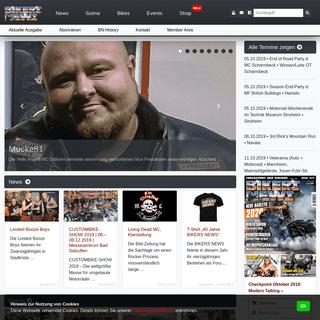BIKERS NEWS - Das Motorrad Magazin für Biker und Rocker