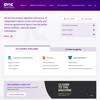 OVIC - Office of the Victorian Information Commissioner