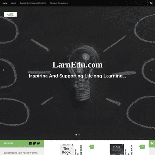 LarnEDU.com - For The Advancement Of Useful Knowledge
