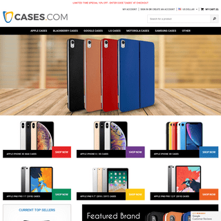 CASES.com - Best Selection of iPhone Cases, iPad Cases and Covers