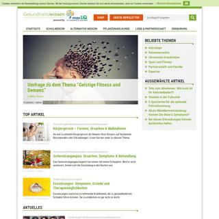 Gesundheitswissen.de- Das Portal für Ihre Gesundheit