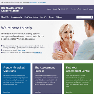 ArchiveBay.com - chdauk.co.uk - Health Assessment Advisory Service -