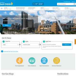 City of San Diego Official Website
