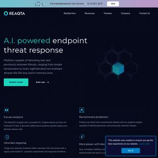 ReaQta - Next-generation Endpoint Threat Response Platform