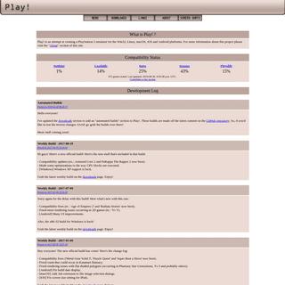 ArchiveBay.com - purei.org - Play! - Development Log