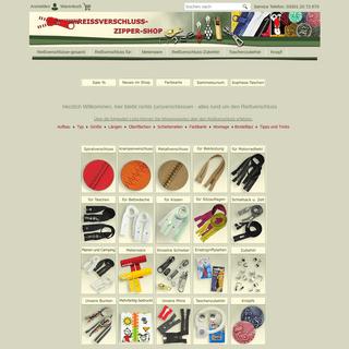 ArchiveBay.com - reissverschluss-zipper.de - Rund um den Reißverschluss, Zipper, Schieber und endlos Meterware