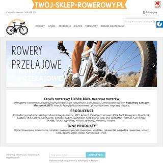 Sklep rowerowy- akcesoria, części rowerowe, odzież - Bielsko-Biała