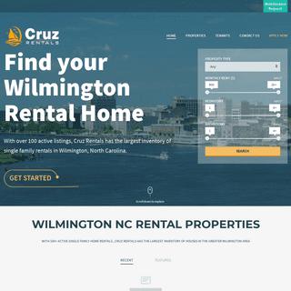 Cruz Rentals – Find your Wilmington Rental Home